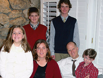 From left: Anna, Ben, Michelle, Michael, Chris, Sam. A drunk driver killed Michelle, Ben and Anna.