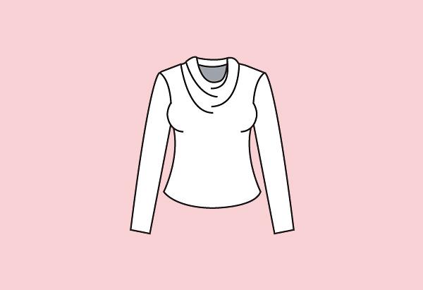 Cowl neck
