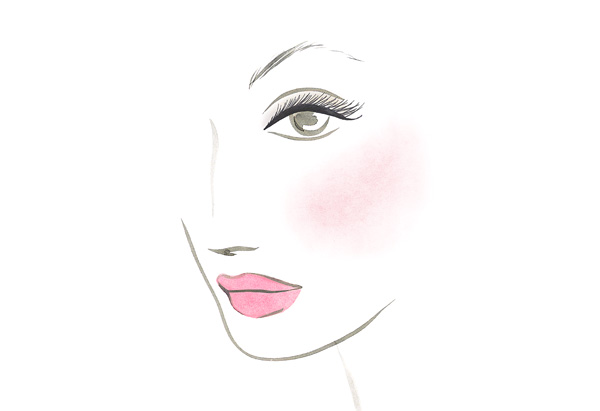 Samantha's makeup