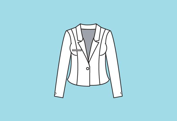 Low-stance blazer