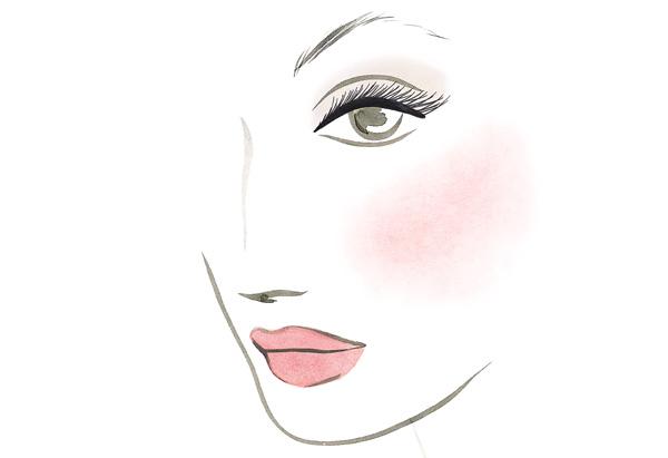 Alexis' makeup