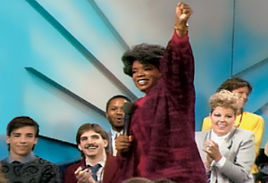 Oprah's first show