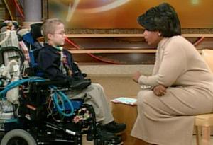 Mattie Stepanek and Oprah