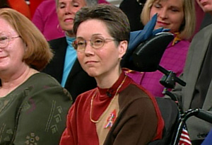 Mattie Stepanek's mother, Jeni