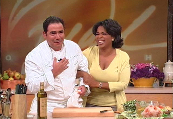 Oprah and Emeril Lagasse