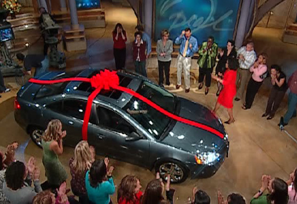 11 Oprah viewers sit with new Pontiac G6