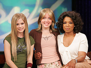 Avril, Nicole and Oprah