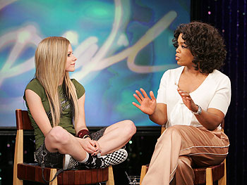 Avril and Oprah