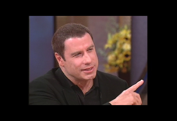 John Travolta talking about firefighters