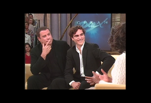 John Travolta and Joaquin Phoenix