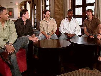 Left to right: Derrick, Justin, Matt, Lenny and Jason on dating