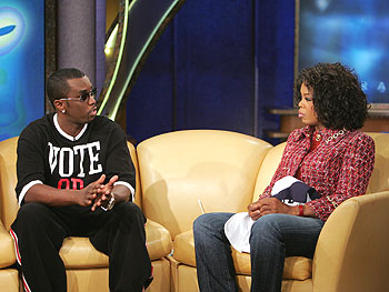P. Diddy on inspiration to educate youth on voting