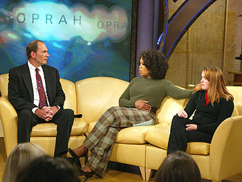 Angelina, Andrew and Oprah