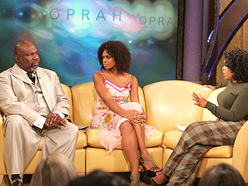 T.D. Jakes, Kimberly Elise, and Oprah