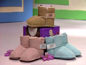 UGG® 'Erin' baby booties