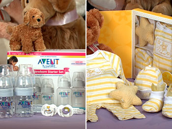 Avent's Newborn Starter Set and Old Navy's Star Gift Set