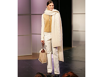 MICHAEL Michael Kors winter white outfit