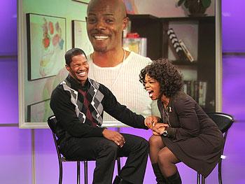 Keenan Ivory Wayans surprises Jamie and Oprah.