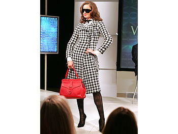 Houndstooth coat from Valentino's Main Line.