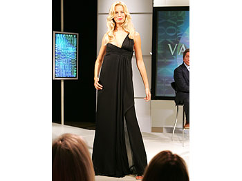 Black chiffon from Valentino's Main Line.