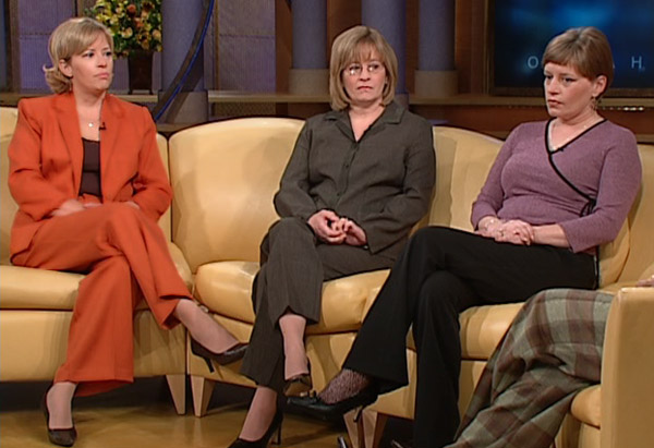 Pam, Cathy and Amy discuss their abusive father.