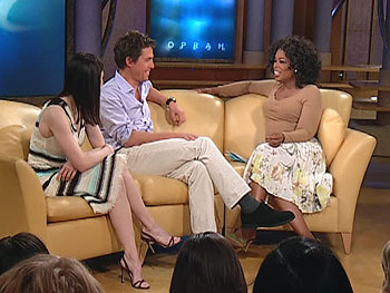 Renee Zellweger, Hugh Grant and Oprah