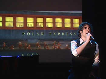 Josh Groban performs 'Believe'