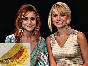 Mary-Kate and Ashley Olsen love Henry's Tacos.