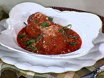 Trattoria Mollie's famous meatballs