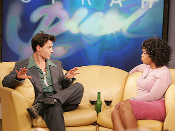 Johnny Depp and Oprah