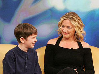 Kate Winslet and Freddie Highmore