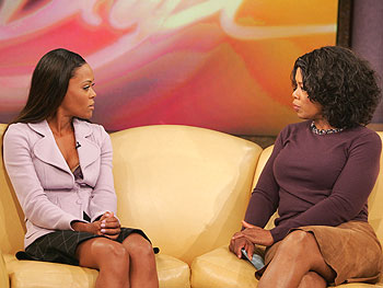 Robin Givens and Oprah