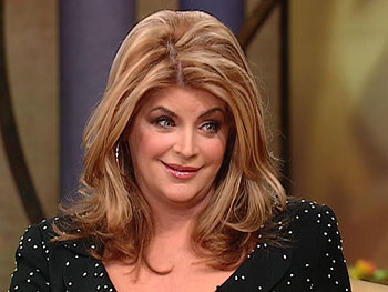 Kirstie Alley on inspiration to lose weight