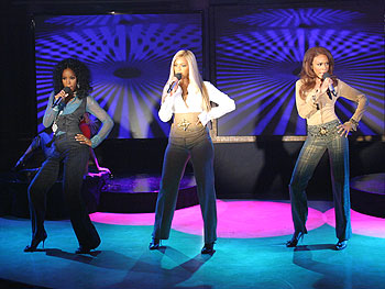Destiny's Child perform a medley of their hits.