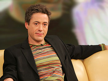 Robert Downey Jr. clean and sober