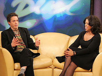 Robert Downey Jr. on Jodie Foster and Sean Penn