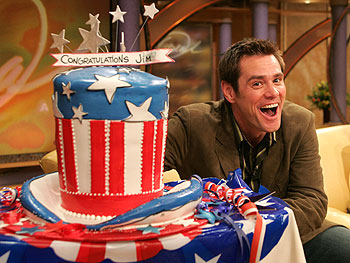 New U.S. citizen, Jim Carrey