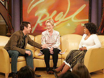 Jim Carrey, Meryl Streep and Oprah