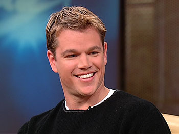 Matt Damon on celebrity friendships
