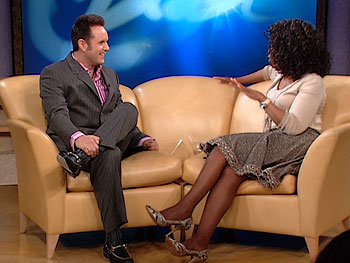 Mark Burnett and Oprah
