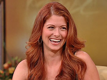 Debra Messing on her son Roman