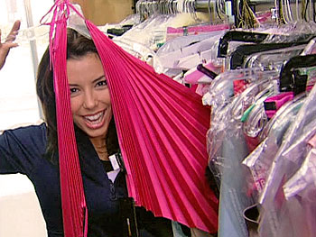 Eva Longoria's wardrobe on 'Desperate Housewives'