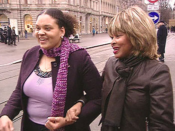 Ena Scott and Tina Turner