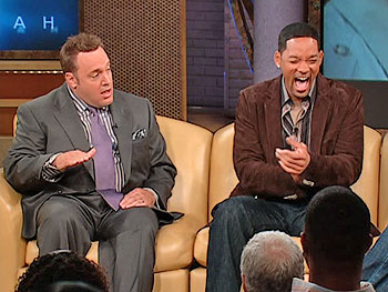 Kevin James, Will Smith and Oprah