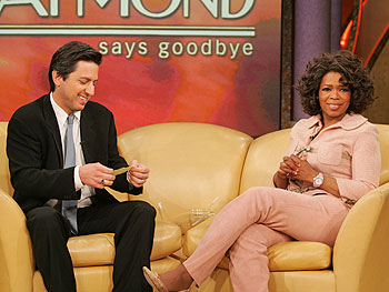 Ray Romano and Oprah
