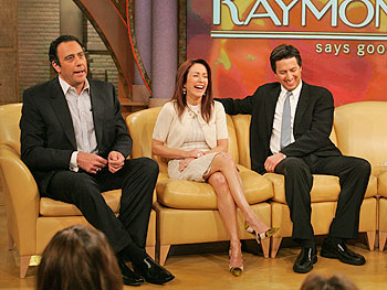 Brad Garrett, Patricia Heaton and Ray Romano