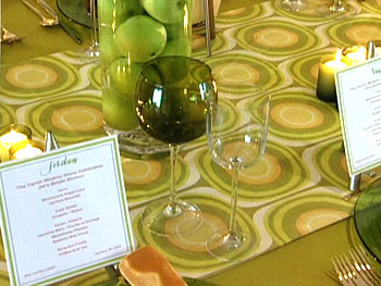 Inexpensive table setting