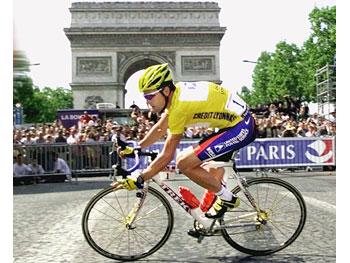 Lance, on the bike