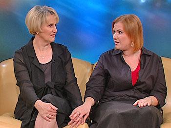 Debbie and Jennifer