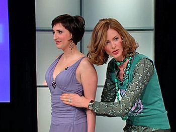 Trinny Woodall and Jennifer